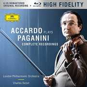 Accardo Plays Paganini - the Complete Recordings , Salvatore Accardo