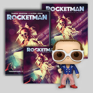 Rocketman Ultimate Fan Pack DVD/ LP Bundle