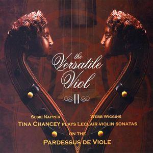 Leclair Violin Sonatas on Pardessus de Viole