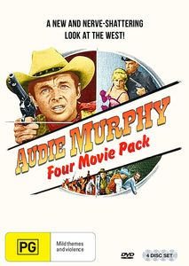 Audie Murphy: Four Movie Pack [Import]
