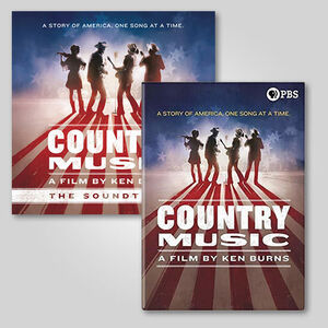 Ken Burns Country Music Deluxe CD Box Set/ DVD Bundle