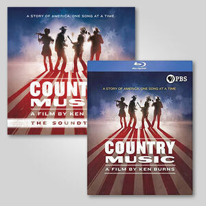 Ken Burns Country Music CD/ Blu-ray Bundle