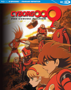 Cyborg 009: The Cyborg Soldier - Complete Series SDBD