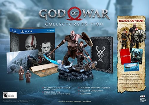 God of War - Collectors Edition for PlayStation 4