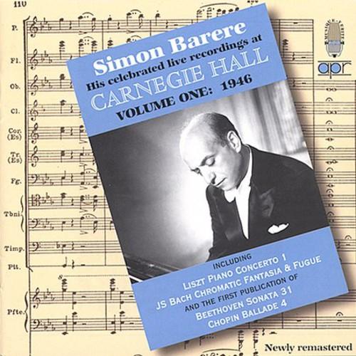 Live Carnegie Hall Recordings-