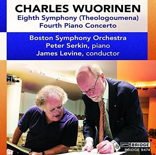 Wuorinen: Eighth Symphony & Fourth Piano Concerto